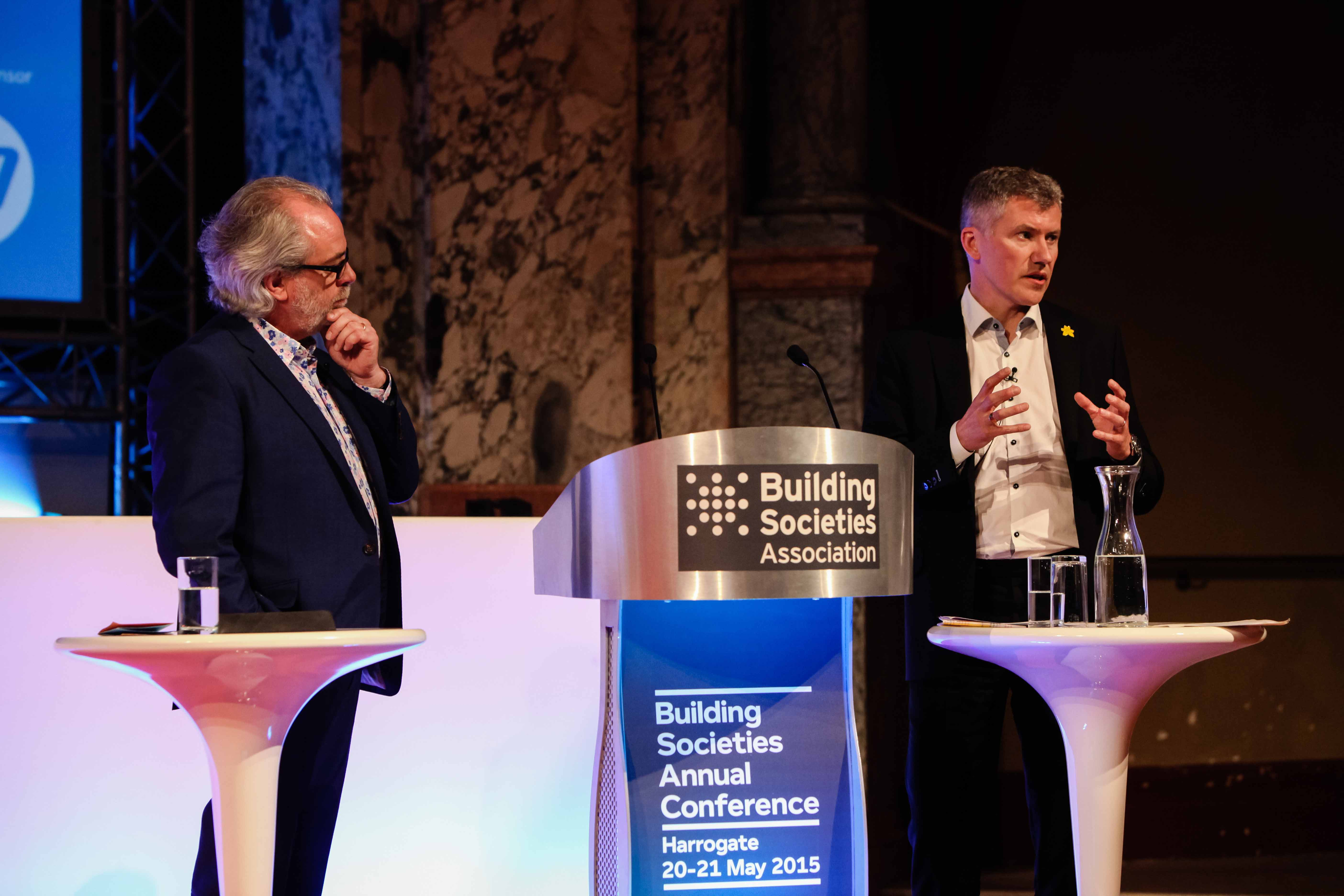 Professor Roger Steare, The Corporate Philosopher, and Chris Pilling, CEO, Yorkshire Building Society, talking about values-based leadership, culture and decision making - watch the video
